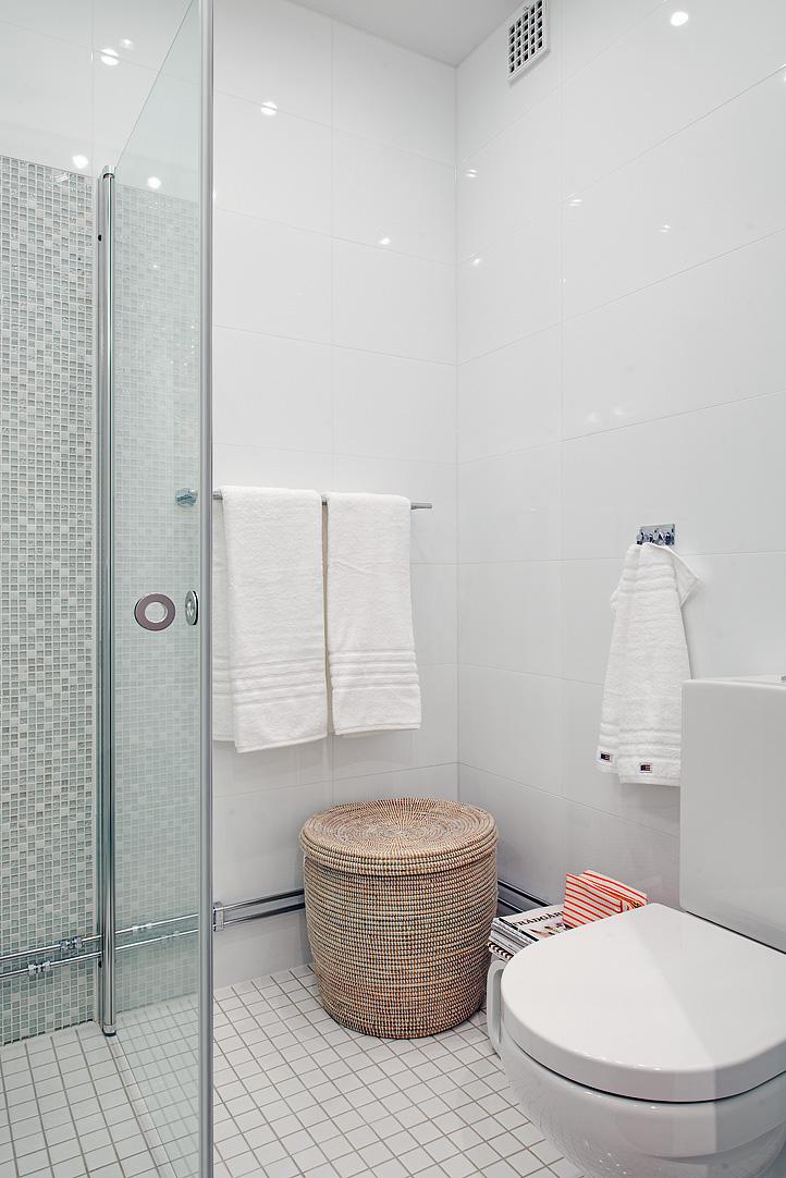 scandinavian apartemnt bathroom