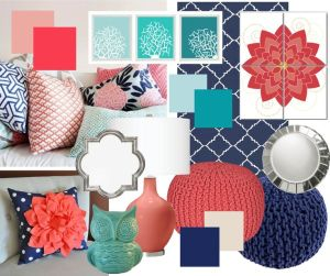 nautical style colors pallete